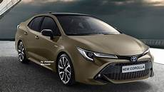 Toyota Xli New Model 2020 by Render New 2020 Toyota Corolla 12th Generation Bmw