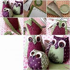 how to make easy fabric owl step by step diy tutorial