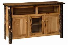 amish rustic tv cabinet with 2 doors
