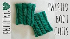 knit accessories twisted boot cuffs knit pattern knitting accessories