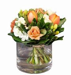 fiori vaso mazzo di fiori in vaso di vetro fotografia stock
