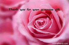Thank You For Your Generous Donation Thank You Messages