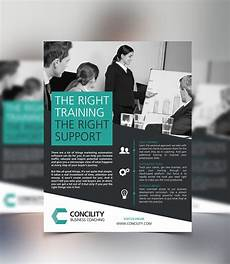 One Page Flyer Concility Business Coaching One Page Flyer Design On Behance