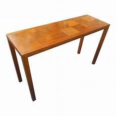 mid century modern sofa table chairish