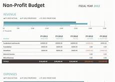 Budgeting For Non Profit Non Profit Budget Template Non Profit Budget Spreadsheet