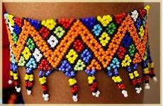beadwork african colours of south africa zulu bead me