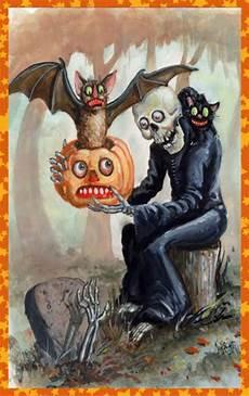 Spooky Halloween Cards Creepy Vintage Halloween Card Vintage Halloween Cards