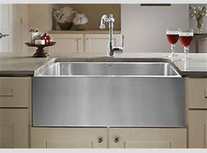 """Blanco Magnum 440296 Undermount 30"""" Large Single Bowl With Apron  Stainless Sinks   Stainless"""