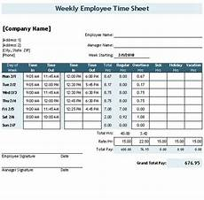 Templates By Vertex42 Com Download The Time Sheet Template With Breaks From Vertex42