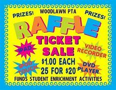 Raffle Ticket Poster Ideas Make A School Raffle Ticket Sale Poster School