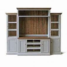 entertainment center media console home theater reclaimed