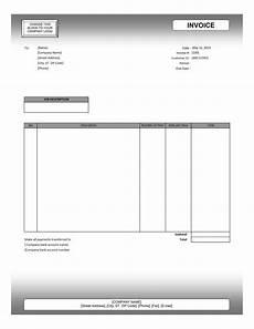 Invoice Template Editable Editable Invoice Template Excel Invoice Example