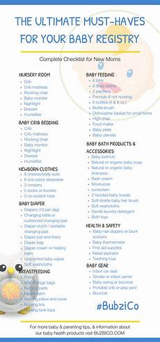 Baby Stuff Checklist Must Have First Baby Registry The Complete Checklist For