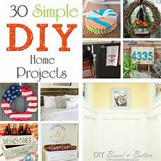 30 simple diy home projects kleinworth co