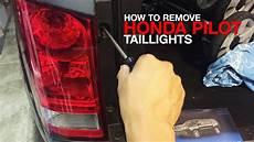 2009 Honda Pilot Brake Light Bulb How To Remove Amp Replace Honda Pilot Taillight Assembly 2nd