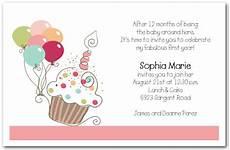 Birthday Invite Images Girl S Cupcake Amp Balloons Birthday Invitation Cupcake