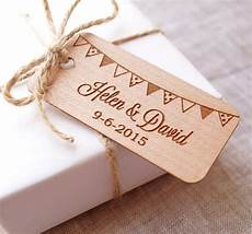 Wedding Favor Tags Personalized Wedding Favor Tags Rustic Wedding Favor Tags