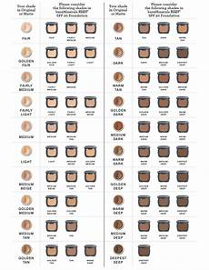 Ricci Foundation Colour Chart Mineral Makeup Color Comparison Chart Saubhaya Makeup