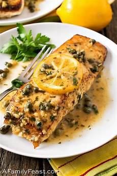 Light Lemon Sauce For Fish Pan Seared Halibut With Lemon Caper Sauce A Family Feast 174
