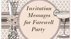 Farewell Invitation Samples Message To Leaving Colleague Just B Cause