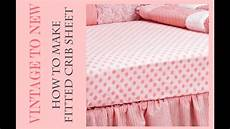 How To Make A Cover Sheet For A Paper Fitted Crib Sheet Tutorial Youtube