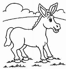 Malvorlage Esel Einfach Ausmalbilder Malvorlagen Esel Kostenlos Zum Ausdrucken
