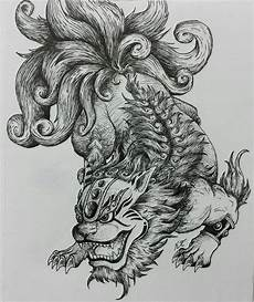 Japanese Foo Dog Designs Pin By Fosterginger On Coloring Book Animals Nature