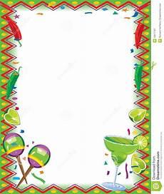 Fiesta Border Template Fiesta Border Stock Illustration Illustration Of Fresh