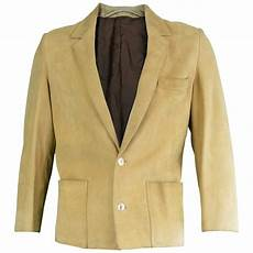 Light Brown Suede Jacket Mens Loewe Mens Light Brown Suede Leather Vintage Blazer Jacket