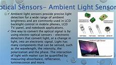 Ambient Light Sensor Used In Mobile Phones Nanosensors Basics Design And Applications