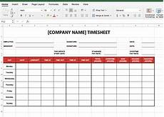 Employee Time Tracking Excel How To Make A Timesheet In Excel Tsheets