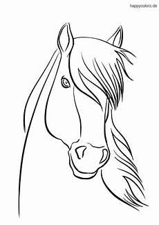 Ausmalbilder Pferde Haflinger Malvorlage Steigendes Pferd Malbild