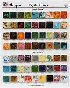 Mayco Crystalites Color Chart Mayco Crystal Glazes Chip Board Yahoo Image Search