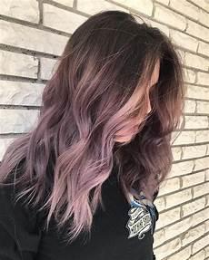 Light Brown Mauve Hair Dusty Lavender Purple Mauve Ombre Hair Guytang
