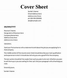 Resume Cover Sheet Template Word Cover Page Template Cyberuse