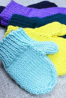 simple mitten knitting pattern purlsandpixels