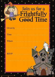 Free Printable Halloween Party Invitations For Adults Free Printable Party Invitations Printable Good Witch