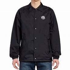 vans torrey coaches jacket black white