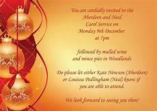 Christmas Carol Invitation Wording Aberdeen House Blog Ardingly College Carol Service