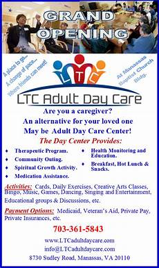 Day Care Ad Day Healthcare Services Return To Manassas