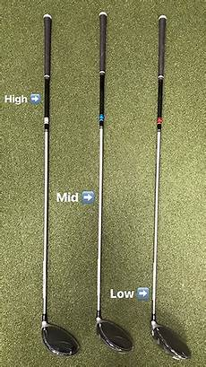 Golf Shaft Kick Point Chart What Is Kickpoint Dallas Golf Company