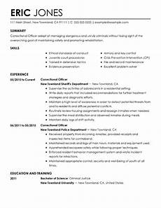 Resume For Correctional Officer Position 20 Best Resume Templates Of 2019 Resume Now