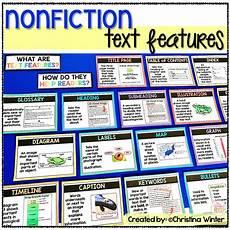 Amazon Nonfiction Charts Nonfiction Text Features Anchor Chart Posters