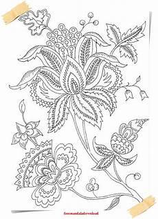 malvorlagen f 252 r erwachsene blumen und pflanzen flowers