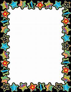 Chart Frame Design Poppin Pattern Stars Blank Chart Ctp1525