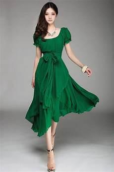 2015 slim fashion chiffon dress big size