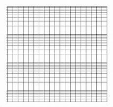 Printable Logarithmic Graph Paper 5 Sample Semi Log Graph Papers Sample Templates