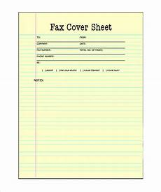 Free Printable Fax Sheet Blank Fax Cover Sheet 9 Free Word Pdf Documents