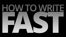 How To Write Copyright How To Write Fast Youtube