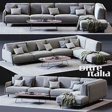 Two Tone Sofa 3d Image by Boconcept Corner Sofa 3d Model In 2020 Furniture
